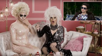 Trixie Mattel e Katya comentam sobre a série The Crown - YouTube/Netflix