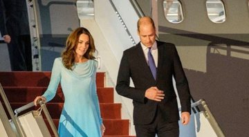 Kate Middleton e Prícipe William em foto publicada no perfil oficial da Família Real - Instagram