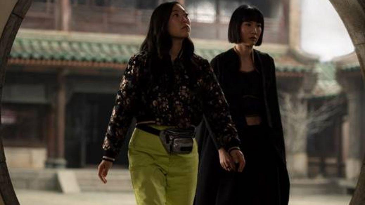 """Katy em """"Shang-Chi e a Lenda dos Dez Anéis"""" (Reprodução/Marvel Studios)"""