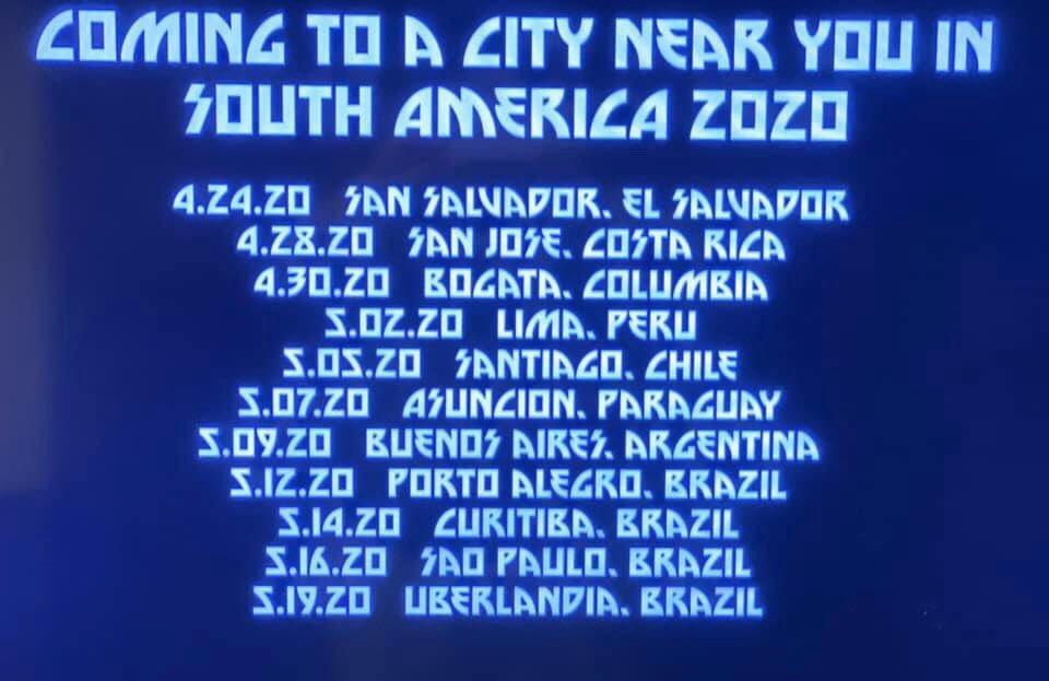 Resultado de imagem para KISS anuncia datas da turnê no Brasil