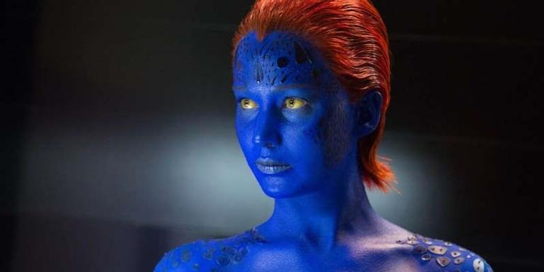 Jennifer Lawrence como Mística em cena de 'X-Men: Dias de um Futuro Esquecido' (2014).