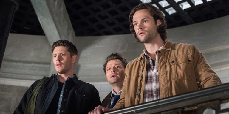 Cena da série 'Supernatural'