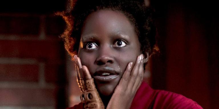 Lupita Nyong'o em cena do filme 'Nós', do diretor Jordan Peele
