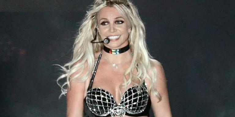 Britney Spears em show em Londres