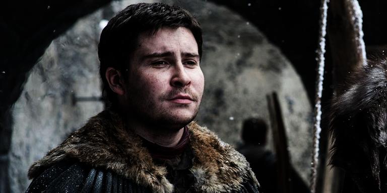 Daniel Portman como Podrick em 'Game of Thrones'.