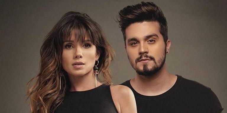 Paula Fernandes e Luan Santana em foto de divulgação para versão brasileira de 'Shallow'.