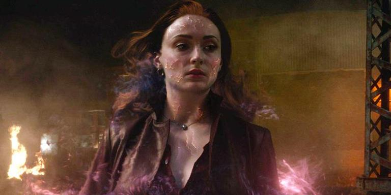 Sophie Turner em 'X-Men: Fênix Negra'