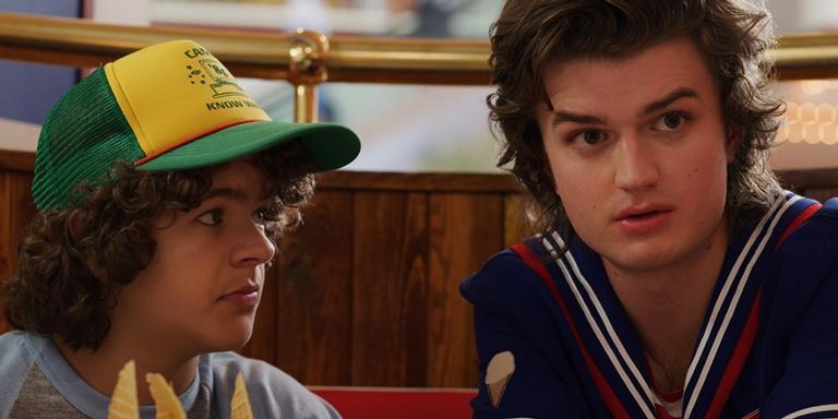 Dustin e Steve em 'Stranger Things'