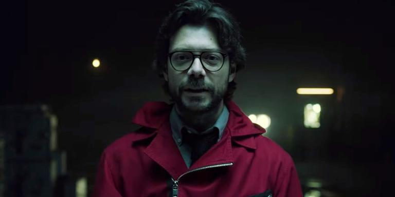 Cena do trailer da terceira parte de 'La Casa de Papel'