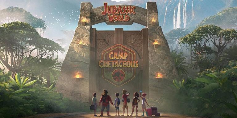Poster oficial de 'Jurassic World: Camp Cretaceous'.