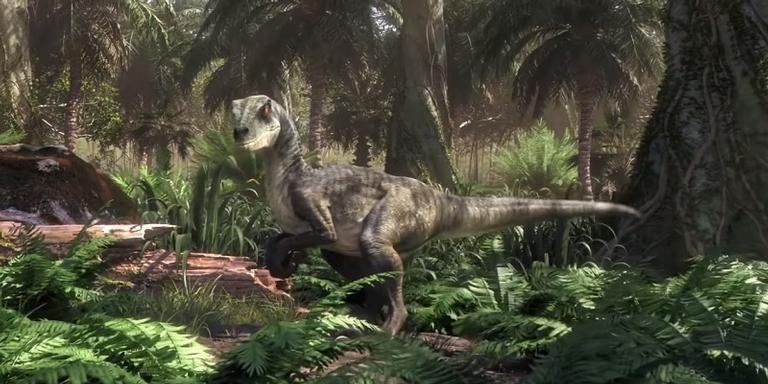 Cena de 'Jurassic World: Camp Cretaceous'.