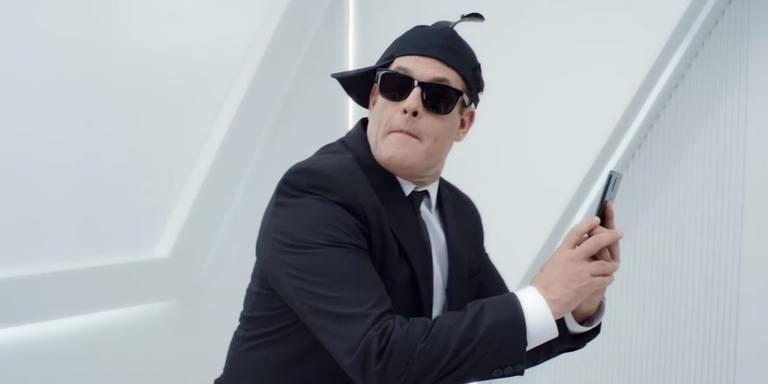 Sérgio Mallandro em 'MIB: Homens de Preto'