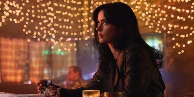 Krysten Ritter em 'Jessica Jones'