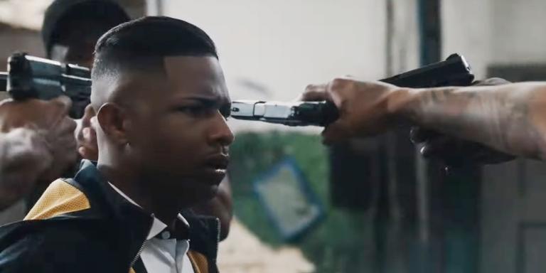Cena do trailer da série brasileira 'Sintonia', da Netflix