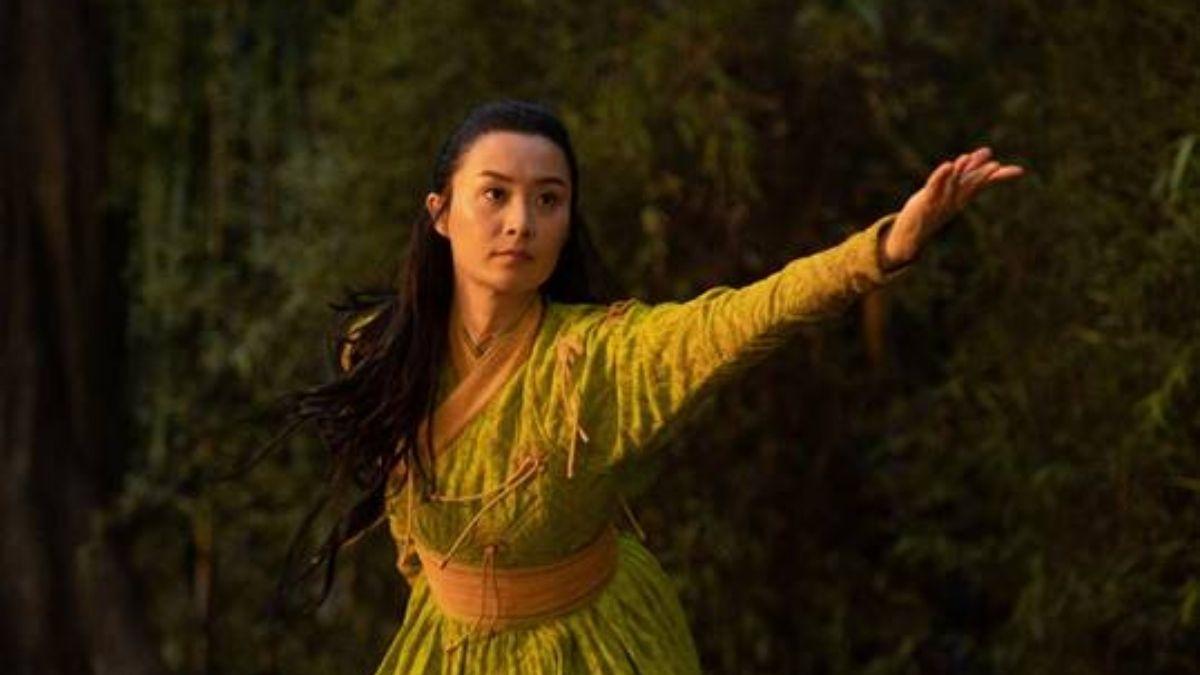 """Li em """"Shang-Chi e a Lenda dos Dez Anéis"""" (Reprodução/Marvel Studios)"""