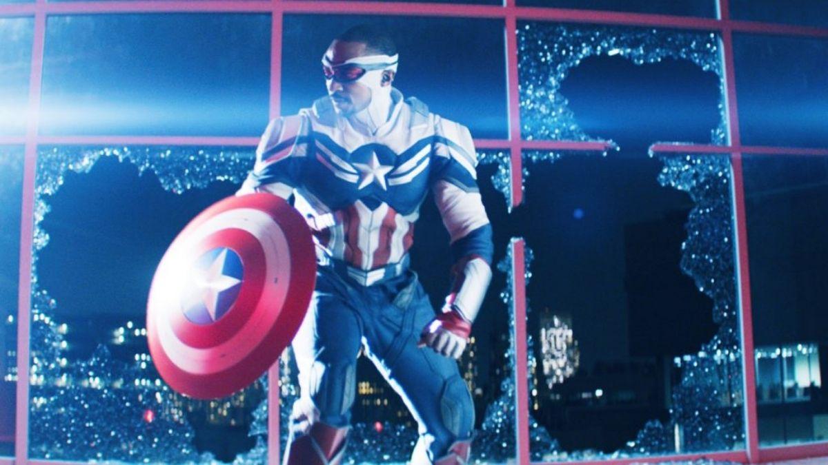 Sam Wilsom como o novo Capitão América