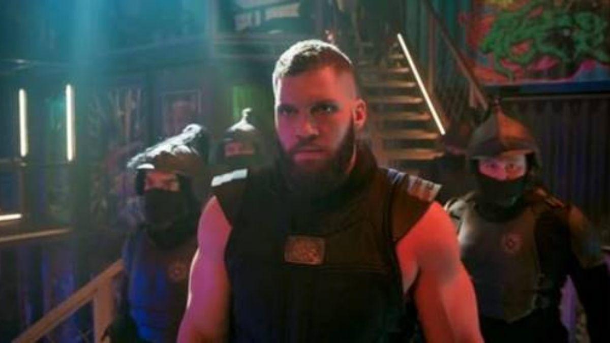 """Razor Fist em """"Shang-Chi e a Lenda dos Dez Anéis"""" (Reprodução/Marvel Studios)"""